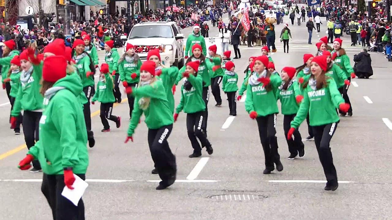 Vancouver Christmas Parade.Vancouver Santa Claus Parade 2017 Part 1