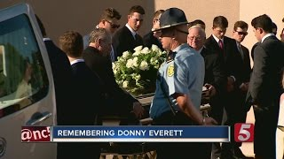 Family, Friends Attend Funeral For Vandy Athlete