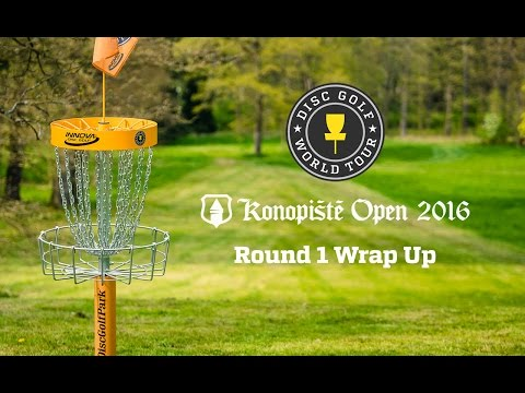 2016 Konopiste Open - Day 1 Wrap Up Show