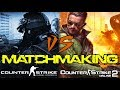 CSGO vs CSO2 Matchmaking Comparison (2017)