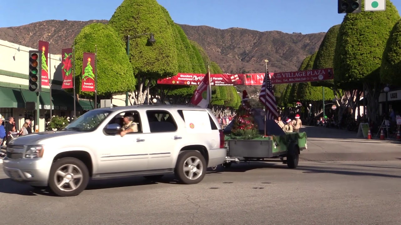 Glendora Christmas Parade 2020 2018 Glendora Christmas Parade   YouTube