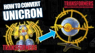 BREAKING! Complete Unicron Conversion! | TRANSFORMERS HASLAB