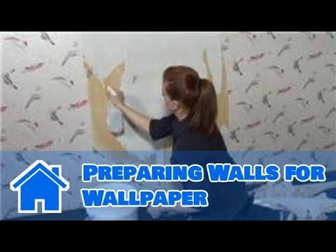 Wallpaper : Preparing Walls For Wallpaper