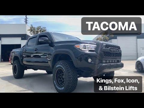 Tacoma on Kings, Bilstein, Icon, & Fox Suspension!