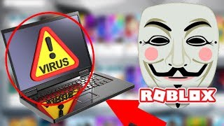 ROBLOX is with VIRUSES!!!! .... * CAUTION *
