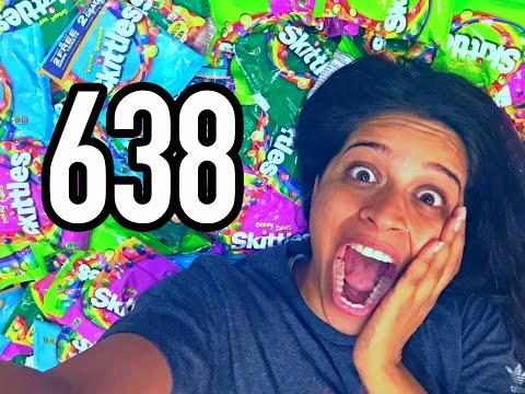 The Time I Went Swimming In Skittles (Day 638)