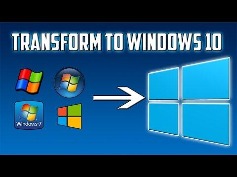 How To: Transform Windows XP/Vista/7/8/8.1 To Windows 10