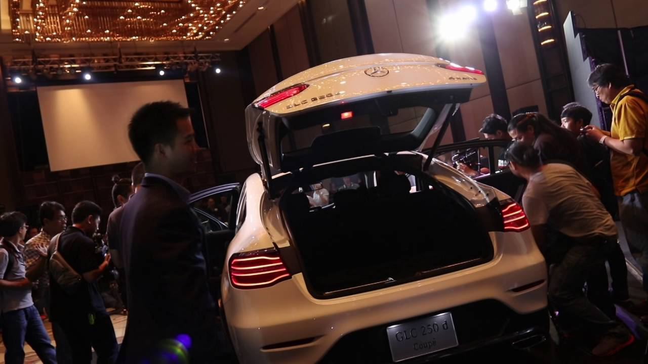 [Video Launch] Mercedes-Benz GLC250d 4MATIC Coupe รถเอสยูวีพลังดีเซล