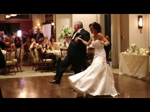 Best Father Daughter Wedding Dance Surprise with Cupid Shuffle