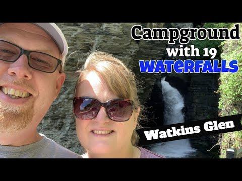 Watkins Glen State Park Campground-Gorge And North Rim Trails