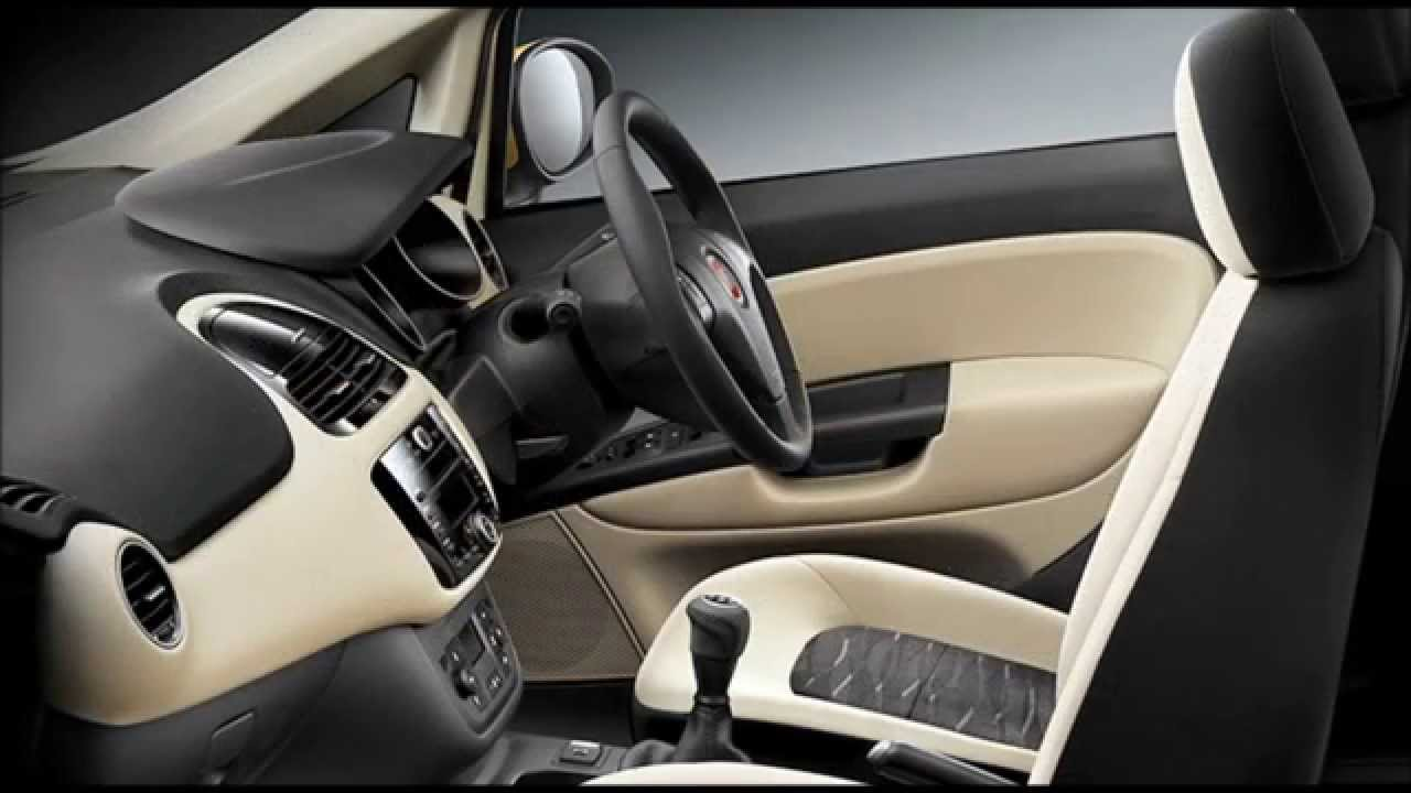 2016 Fiat Punto Evo Interior : Review - YouTube