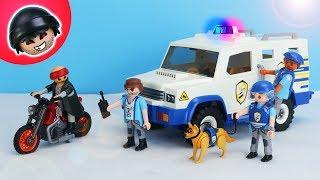 Der NEUE Geldtransporter von Playmobil Polizei - KARLCHEN KNACK