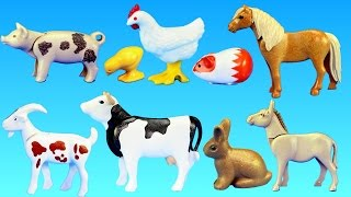 Playmobil Country Farm Animals Barn Building Set Build Review
