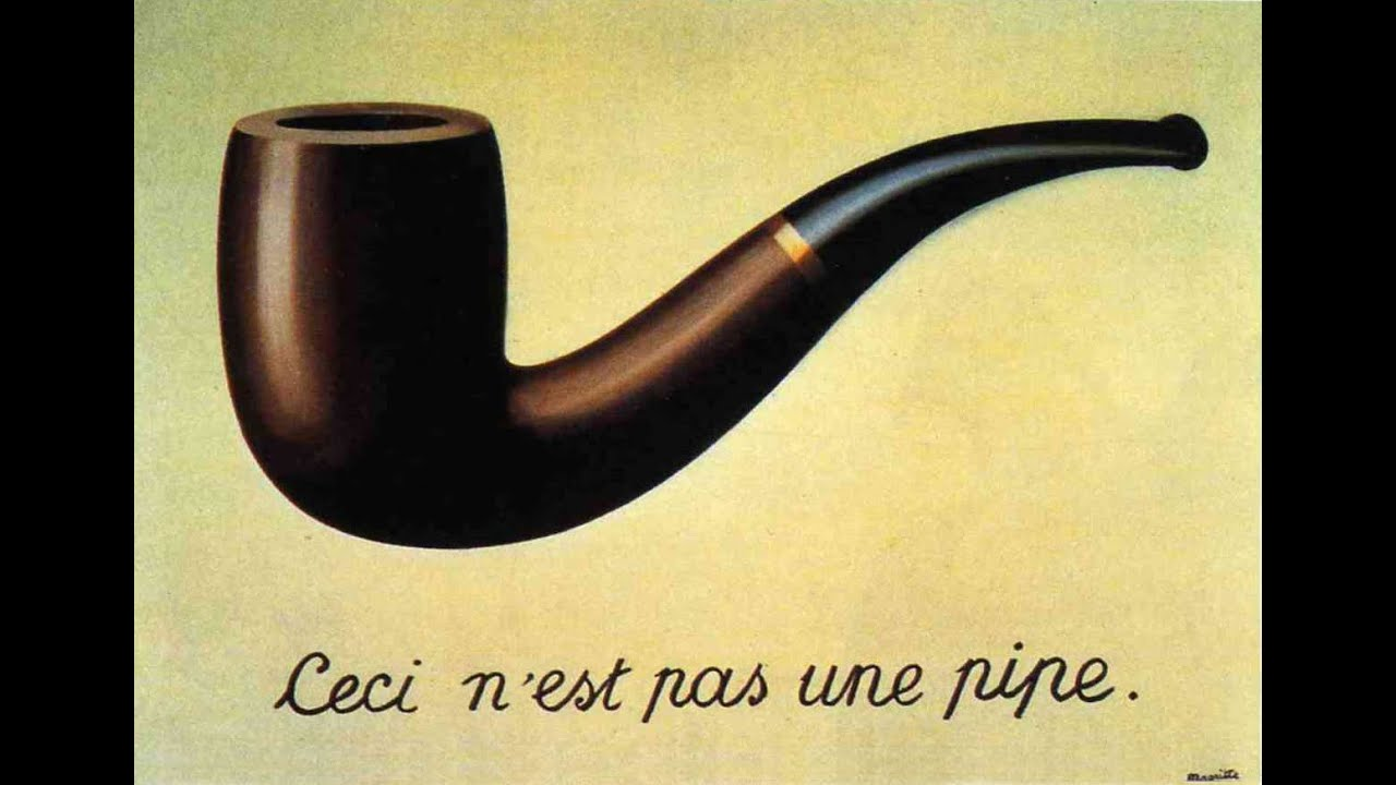 ren magritte ceci n est pas une pipe spiegato ai truzzi youtube. Black Bedroom Furniture Sets. Home Design Ideas