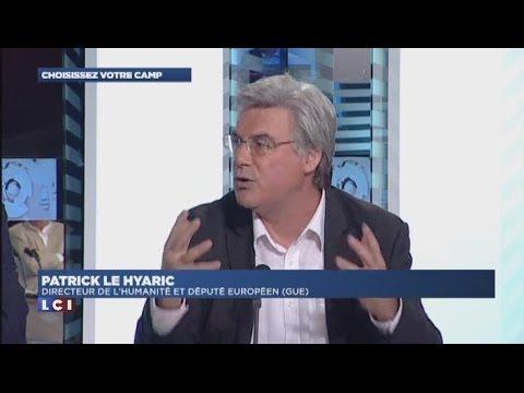 """Patrick Le Hyaric dans l'émission de Valérie Expert sur LCI """"Choisissez votre camp"""" - 13 juin 2014 -"""
