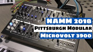 NAMM 2018: Pittsburgh Modular Microvolt 3900 Synthesizer  | SYNTH ANATOMY