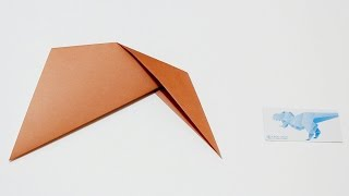 Origami Basics 4 : How to fold Outside Reverse Fold 摺紙基本技巧 4 : 外中割摺