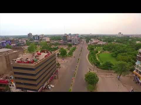 LAHORE | Aerial views of Gulberg and Liberty Market