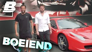 RIJDEN IN EEN FERARRI MET DJ LA FUENTE!! | BOEIEND - Concentrate BOLD