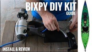 Bixpy Jet DIY Kit For Kayaks:  Easy Motor Install