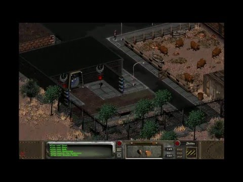 """Let's Play Fallout 2 Part 107: 5 """"Sparrings"""" and Defeating Lo Pan"""