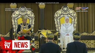 Download Mp3 Sultan Abdullah Installed As Malaysia's 16th King