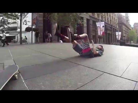 Sydney skate trip