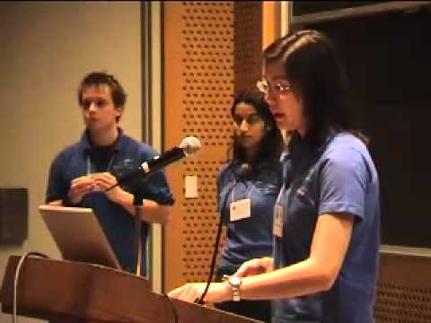 Imperial College of London team presentation at iGEM 2006