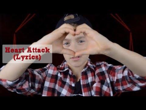 Demi Lovato- Heart Attack (Lyrics) (Johnny Orlando cover) (2013)