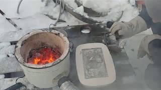 Литьё алюминия - первый бли... радиатор комом..mp3