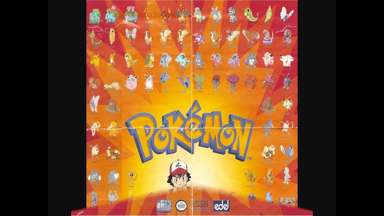 Pokémon Season 1: Indigo League - Opening Theme - YouTube