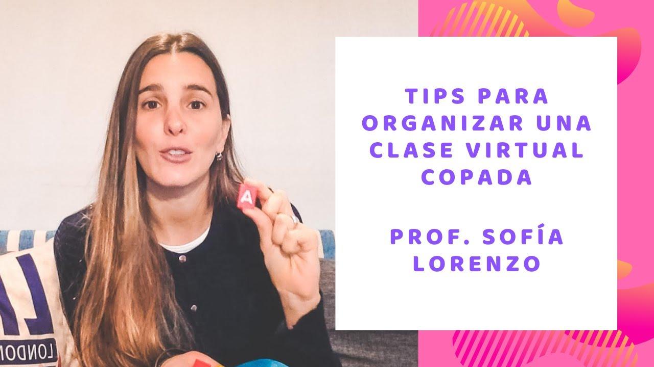Tips para organizar una clase virtual COPADA