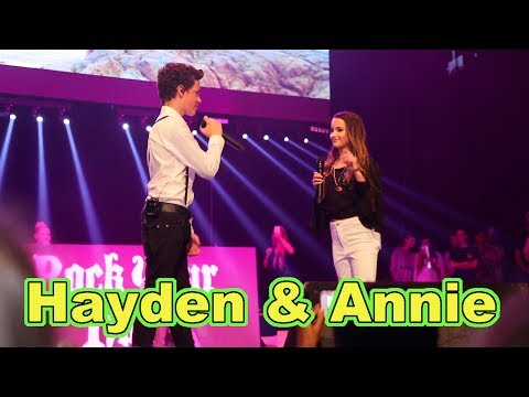 Thumbnail: Hayden Summerall & Annie LeBlanc ( LIVE in Concert ) Little Do You Know by Alex & Sierra
