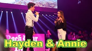 Hayden Summerall & Annie LeBlanc  ( LIVE in Concert  ) Little Do You Know by Alex & Sierra