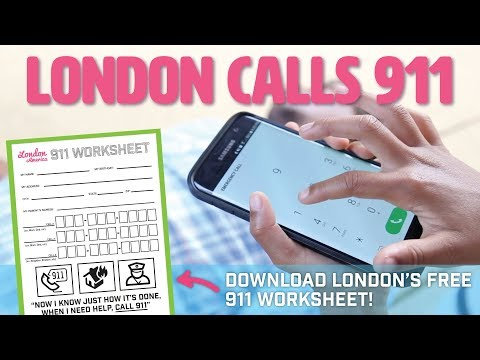 Girl Calls 911 From Dad's Cell Phone | London in America