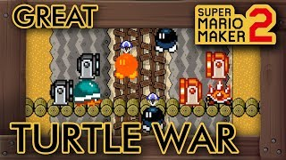 Super Mario Maker 2 - Tides of the Great Turtle War