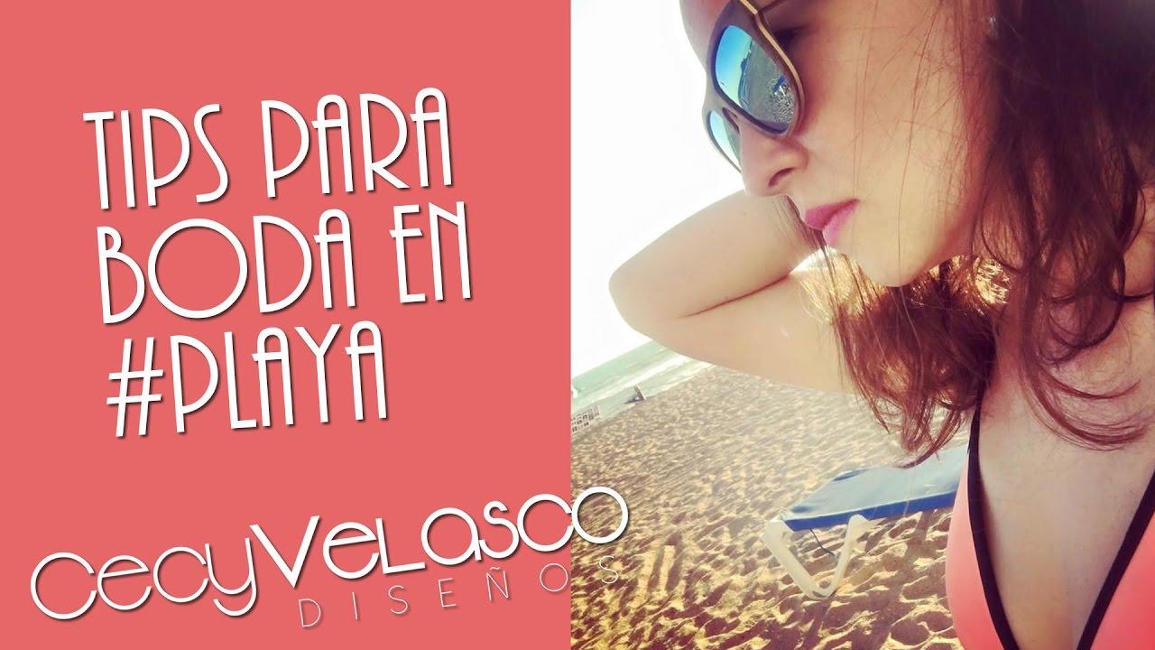 Tips para vestir en boda de playa - Cecy Velasco - YouTube