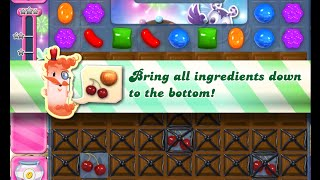 Candy Crush Saga Level 1410 walkthrough (no boosters)