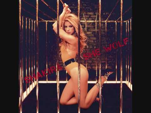 Shakira  She Wolf Audio Track + Lyrics