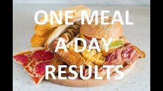 OMAD One Meal A Day Diet For 3 Months (Intermittent Fasting)   WEEK #5 RESULTS