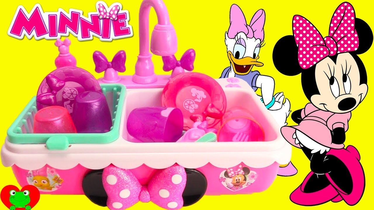 Minnie Mouse Kitchen Sink Wash and Learn Color Changing Surprises