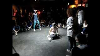 IBE 2012   Bgirl Battle   Suprema vs Bgirl Roxy & J-Kay