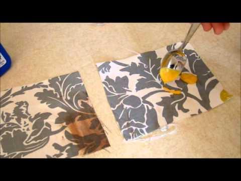 Rustoleum NeverWet For Outdoor Fabric Trial & Rustoleum NeverWet For Outdoor Fabric Trial - YouTube