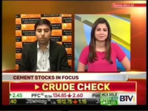 Watch Mr. Chandan Taparia on Bloomberg TV India on the show World Of Derivatives