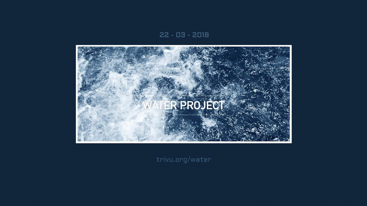 water project The water project, inc is a 501(c)(3) non-profit organization bringing relief to communities around the world who suffer needlessly from a lack of access to.
