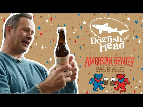 Dogfish Head Quick Sip Clip: American Beauty Pale Ale - Our Collaboration With The Grateful Dead