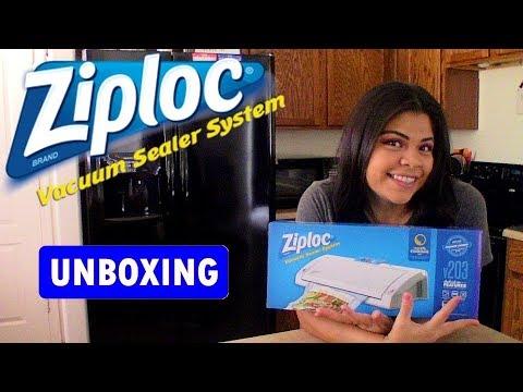 Ziploc Vacuum Sealer V203 Unboxing Video