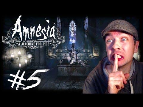 Amnesia: A Machine for Pigs - Part 5   MANBEARPIG ATTACK   Gameplay Walkthrough