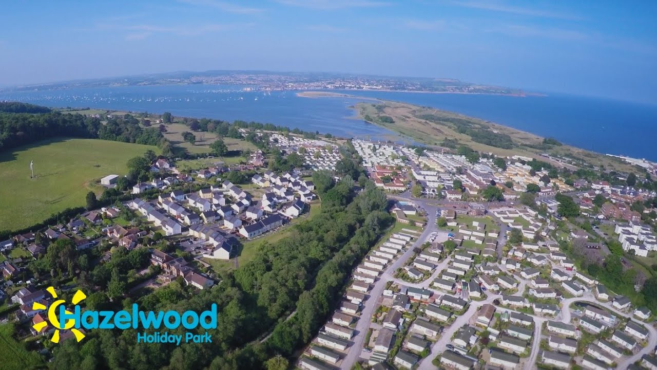 Overview of Hazelwood Holiday Park Dawlish Warren