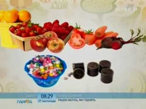 Питание кормящей матери по месяцам: таблица. Меню, рацион